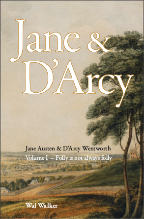 Front cover of Jane and Darcy, volume one