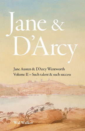 Front cover of Jane and Darcy, volume two